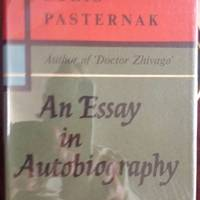 image of An Essay in Autobiography