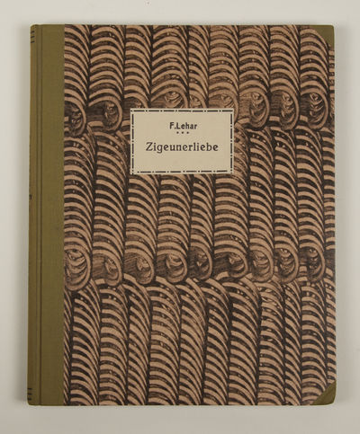 Wien: W. Karczag & C. Wallner , 1909. Folio. Newly bound in half olive green cloth with patterned pa...
