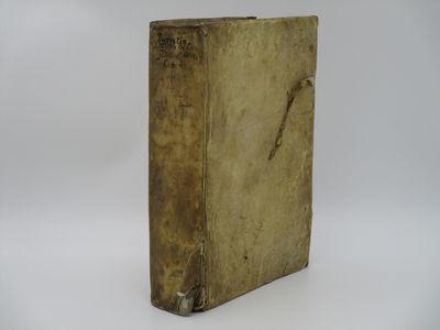 Geneve. : Pierr & Jaques Chouet. , 1618 . Contemporary plain parchment. . Good, lower front outer hi...