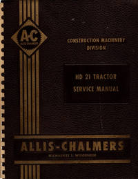 image of HD 21 Tractor Service Manual