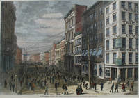 Broad Street During the Panic, a full page spread from Harper's Weekly