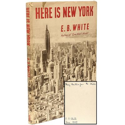 NY: Harper & Brothers, 1949, 1949. FIRST EDITION FIRST PRINTING PRESENTATION COPY. 1 vol., first pri...
