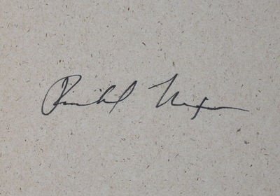 New York: Arbor House, 1985. First Edition. Hardcover. vg. Signed by Richard Nixon on the free front...