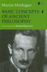 image of Basic Concepts of Ancient Philosophy (Studies in Continental Thought)