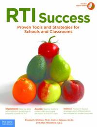 RTI Success : Proven Tools and Strategies for Schools and Classrooms by Alice Woodrow; Elizabeth Whitten; Kelli J. Esteves - Paperback - 2009 - from ThriftBooks (SKU: G1575423200I4N00)