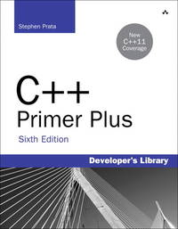 C++ Primer Plus, Paperback, 6th edition. by Stephen Prata - Paperback - from Textbook Deals (SKU: BCP-2021-38342)