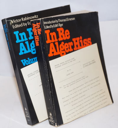 New York: Hill and Wang, 1980. 2 vols. , rather worn wraps, interior clean, good reference copy.