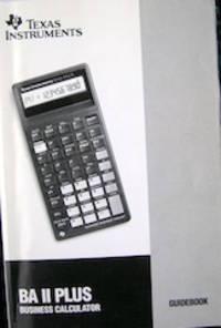 image of BA II Plus Guidebook