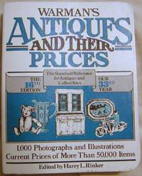 Warman\'s Antiques and Their Prices