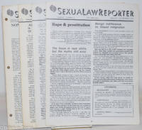 image of SexuaLawReporter: [five issue broken run]