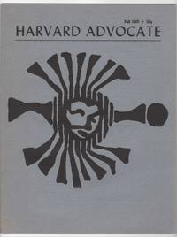 The Harvard Advocate, Volume 100, Number 1 (C; November 1965)