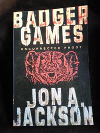Badger Games SIGNED Uncorrected Proof Copy