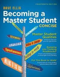 image of Becoming a Master Student: Concise