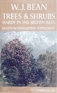 image of Trees and shrubs hardy in the British isles A-E (vol. 1 only)