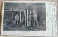 Scranton Coal Miners Postcard