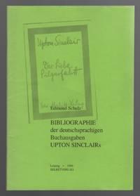 Bibliographie Der Deutschsprachigen Buchausgaben Upton Sinclair