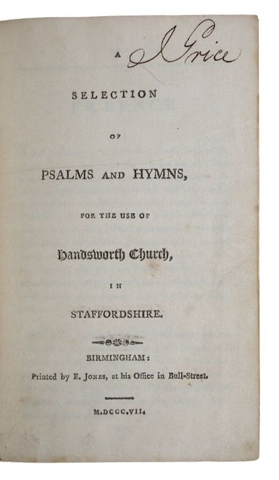 A selection of psalms and hymns, for...