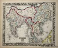 Map of Hindoostan, Farther India, China and Tibet