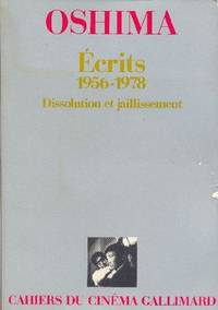 image of Écrits (1956-1978).  Dissolution et jaillissement