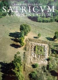SATRICUM (A Town in Latium). Satricana Vol I