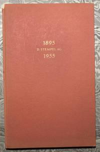 Chronik der Schriftgiesserei D. Stempel AG, Frankurt A. M.: Sechzig Jahre im Dienste der Lettern, 1895-1955