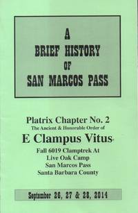 Brief History of San Marcos Pass