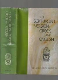 The Septuagint Version: Greek and English