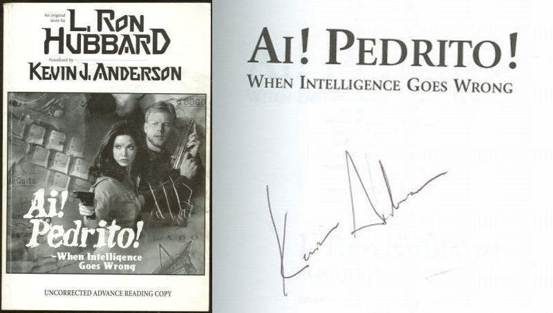 AI! PEDRITO When Intelligence Goes Wrong, Andersen, Kevin