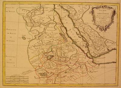 Paris: Bonne, Rigobert, 1770. unbound. very good. Map. Engraving with original hand coloring. Image ...
