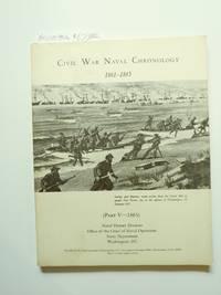 Civil War Naval Chronology 1861-1865