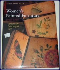 WOMEN'S PAINTED FURNITURE, 1790-1830. AMERICAN SCHOOLGIRL ART.