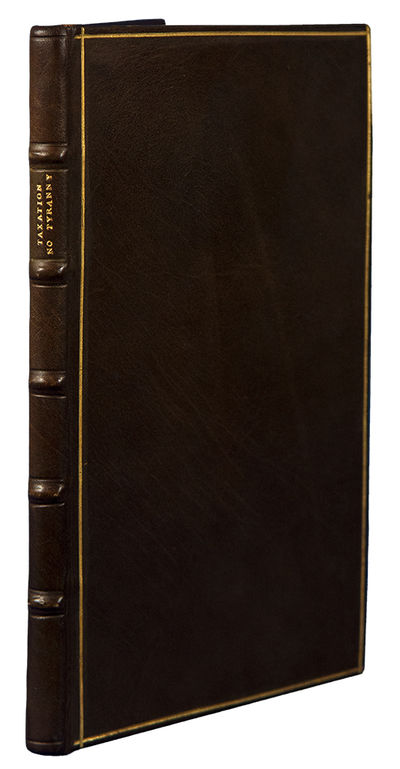 London: Printed for T. Cadell, 1775. 8vo. (7 7/16 x 4 1/2 inches). , 91pp. Half title. Bound to styl...