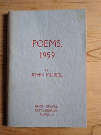 Poems 1959 by  John Muriel - Paperback - Signed First Edition - 1959 - from Takara Books (SKU: 22)