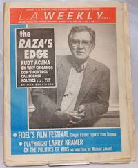 L. A. Weekly: vol. 8, #7, Jan. 10-16, 1986; Larry Kramer on the Politics of AIDS
