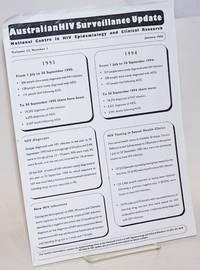 Australian HIV Surveillance Update: [handbill/newsletter] vol. 12, #1, January 1996