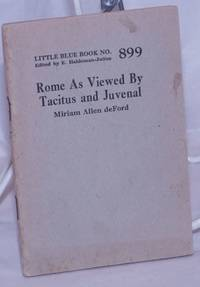 image of Rome as Viewed by Tacitus and Juvenal