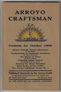 Arroyo Craftsman, Volume 1, Number 1
