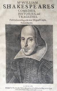 The Second Folio: Comedies, Histories, and Tragedies. Published according to the true originall...