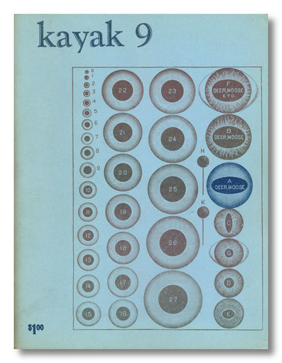 San Francisco: Kayak Books, 1966. Whole number nine (of 64 numbers published through May 1984). Smal...