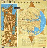 Sydney and Suburbs Map.
