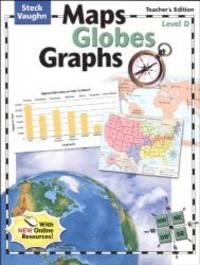 Maps Globes Graphs: Teacher's Guide, Level D Grade 4 2004