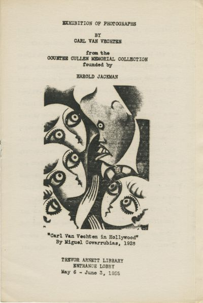 : Trevor Arnett Library, 1955. First edition. 8vo., 4 pp., stapled into illustrated wrappers. Near f...