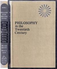 Philosophy in the Twentieth Century. An Anthology. Volume Three (3) Only by  William and Henry D. Aiken Barrett - First Edition - from Gail's Books and Biblio.com