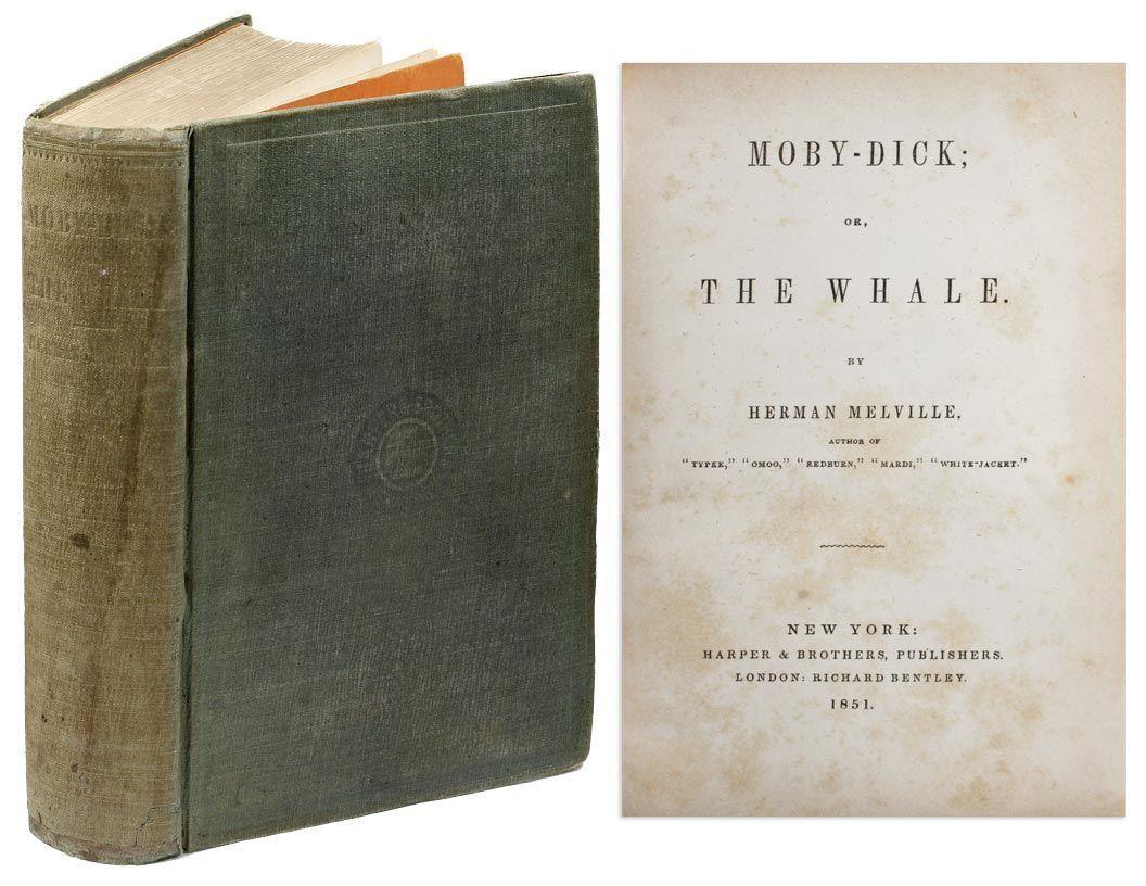 Resultado de imagen para moby dick the whale original cover