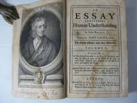 image of AN ESSAY CONCERNING HUMAN UNDERSTANDING (Volume 1 only)