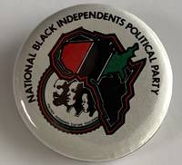 image of National Black Independents Political Party [pinback button]