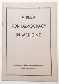 A plea for democracy in medicine