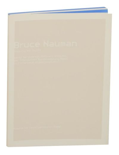 Basel, Switzerland: Museum fur Gegenwartskunst, 2002. First edition. Softcover. 62 pages. Exhibition...