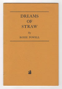 Dreams of Straw (original 1963 letterpress edition)