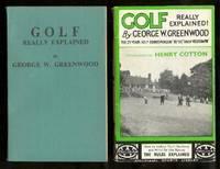 image of GOLF - Really Explained - Foulsham's Sports Library